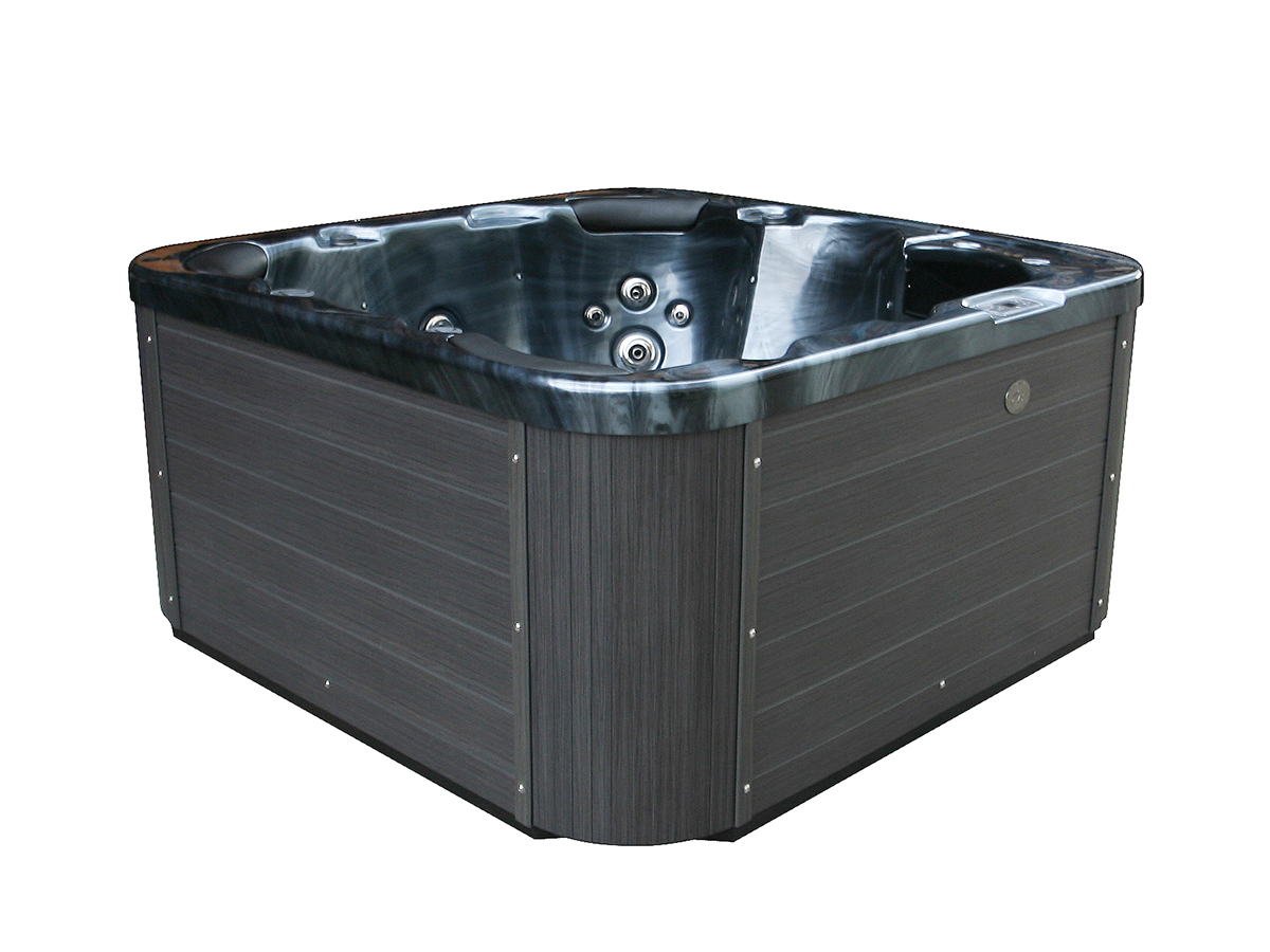 jacuzzi dunkelgrau outdoorwhirlpool in baar kaufen bei. Black Bedroom Furniture Sets. Home Design Ideas
