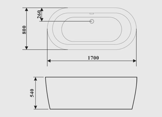 Oval Tub Sizes Of Free Standing Oval Bathtub Whirlpool Bath Acrylic