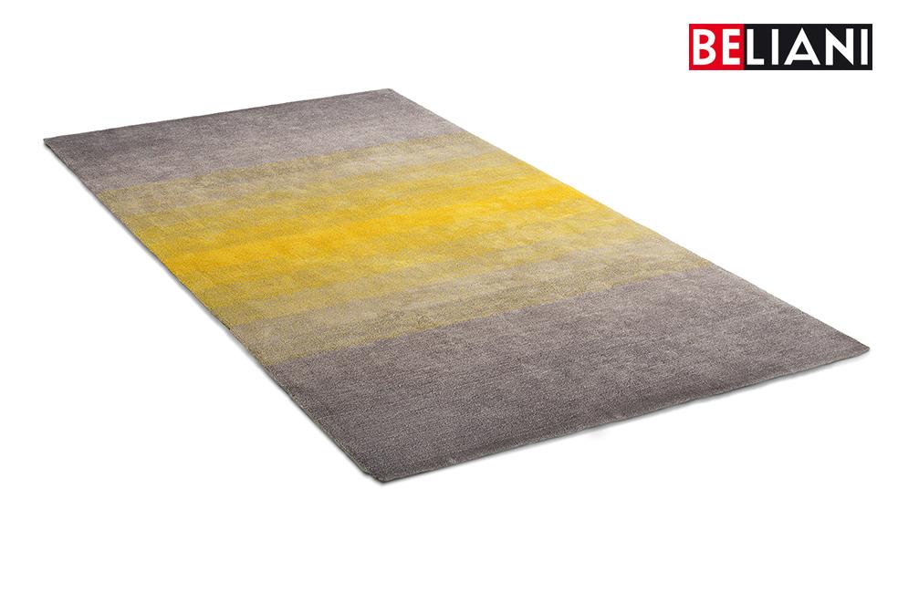 teppich gelb grau gelber teppich f r eine frische und. Black Bedroom Furniture Sets. Home Design Ideas