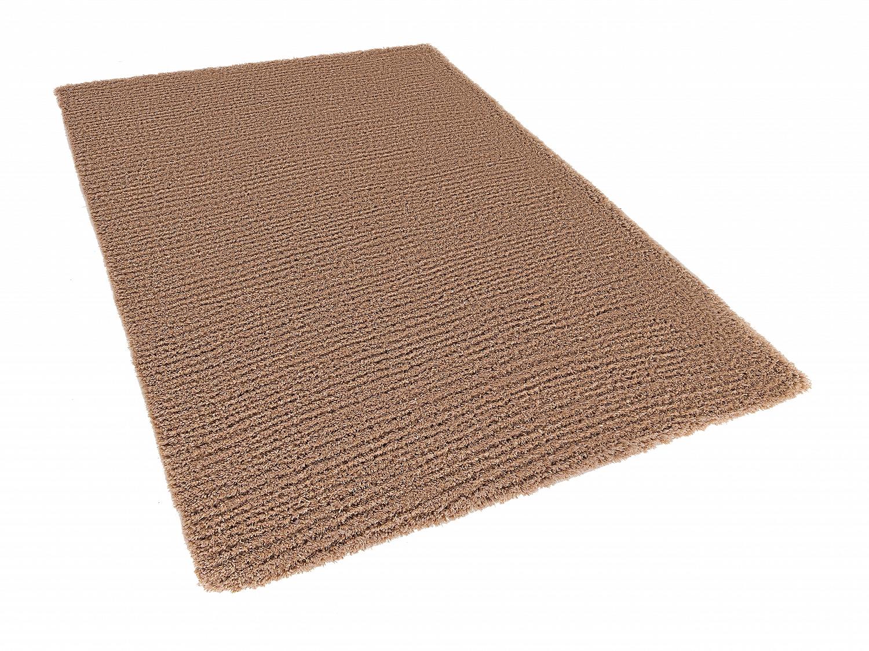 teppich beige 160x230 cm shaggy polyester l ufer. Black Bedroom Furniture Sets. Home Design Ideas