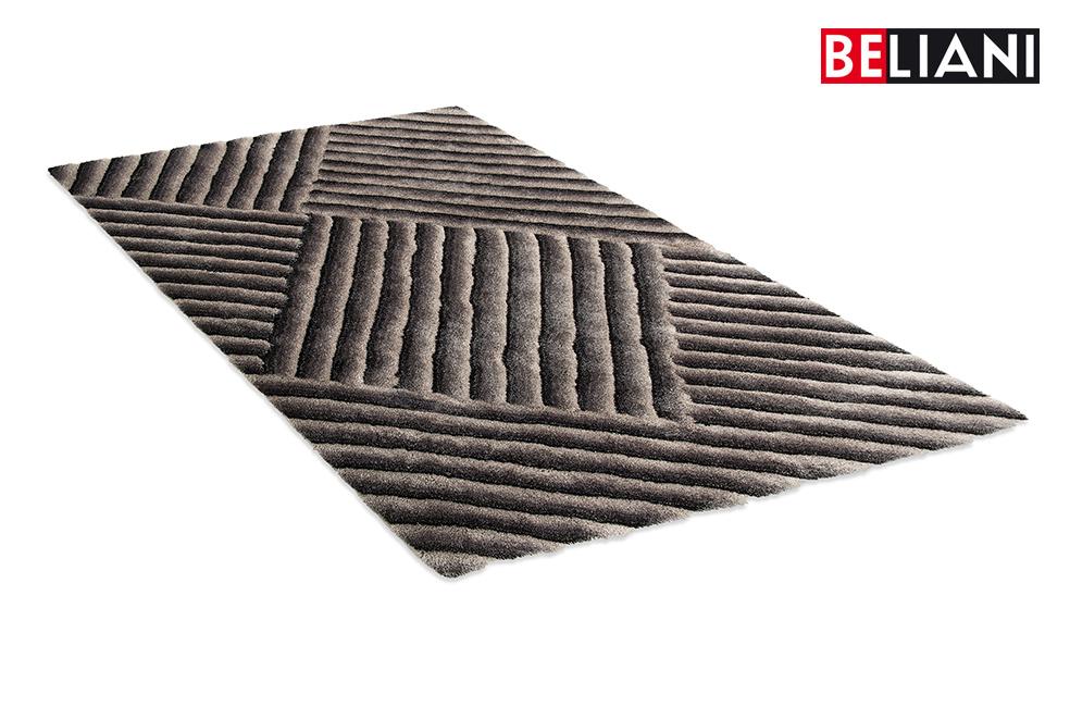 Teppich, Grau, 200×230 cm, Shaggy, 3D in Baar kaufen bei