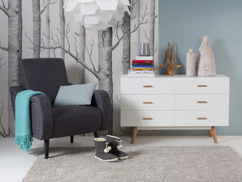 sessel dunkelgrau relaxsessel ohrensessel fernsehsessel clubsessel stoff ebay. Black Bedroom Furniture Sets. Home Design Ideas