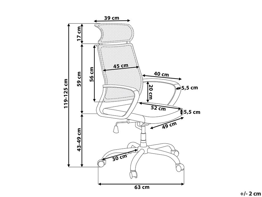 sessel blaugrau b rostuhl b rom bel stuhl schreibtischstuhl b rosessel ebay. Black Bedroom Furniture Sets. Home Design Ideas