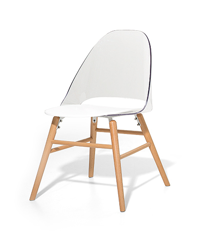 Stuhl plastikstuhl schalenstuhl weiss in baar kaufen for Plastikstuhl design