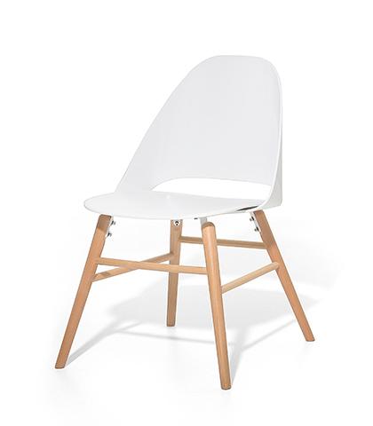 stuhl plastikstuhl schalenstuhl weiss in baar kaufen. Black Bedroom Furniture Sets. Home Design Ideas