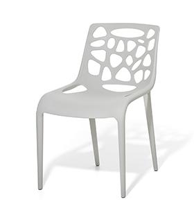 Stuhl plastikstuhl gartenstuhl weiss in baar kaufen bei for Plastikstuhl design