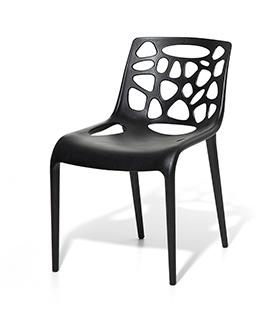 Stuhl plastikstuhl gartenstuhl weiss in baar kaufen bei for Design plastikstuhl
