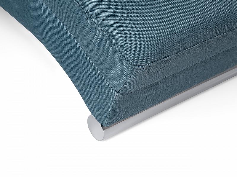Sofa Blau Couch Relaxsessel Recamiere Liegestuhl Relaxliege ...