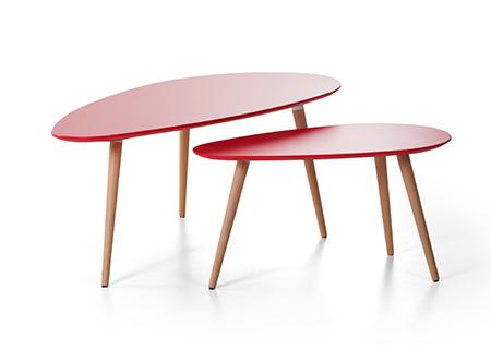 Couchtisch rot beistelltisch tisch in baar kaufen bei - Couchtisch rot ...