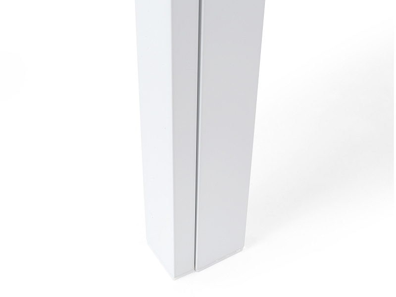 gartentisch weiss 160 cm esstisch aluminium gartenm bel outdoor glas ebay. Black Bedroom Furniture Sets. Home Design Ideas