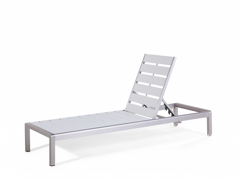 gartenliege weiss liegestuhl sonnenliege relaxliege liege. Black Bedroom Furniture Sets. Home Design Ideas