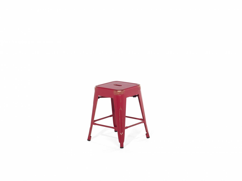 Tabouret tabouret rouge petit tabouret chaise de - Petit tabouret de cuisine ...