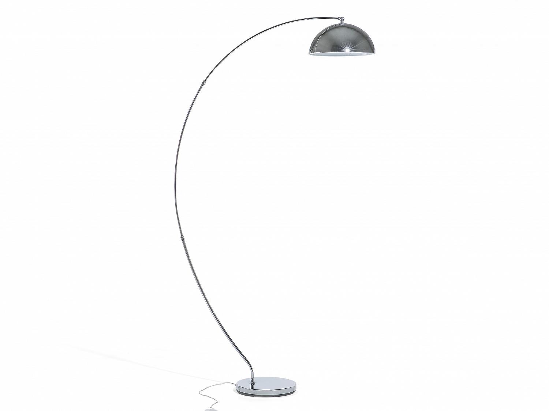 stehlampe silber stehleuchte standleuchte lampen leuchten. Black Bedroom Furniture Sets. Home Design Ideas