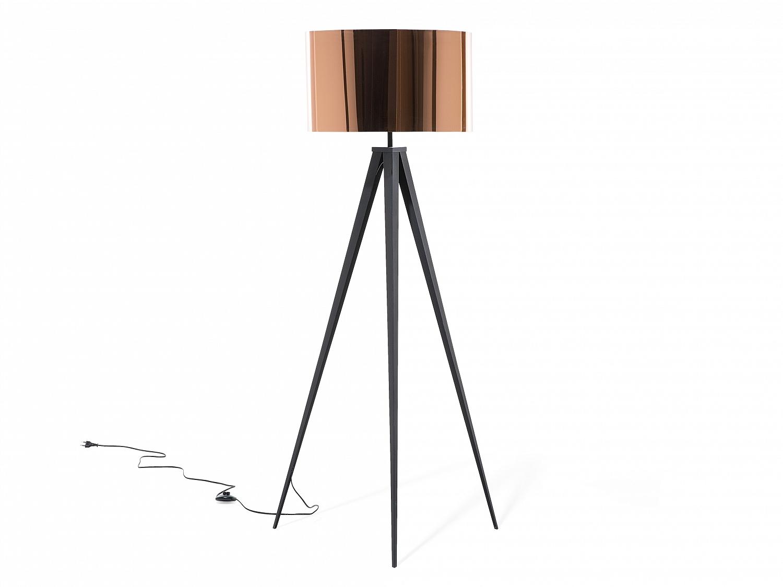 stehlampe kupfer stehleuchte standleuchte lampen leuchten schlafzimmer salon ebay. Black Bedroom Furniture Sets. Home Design Ideas