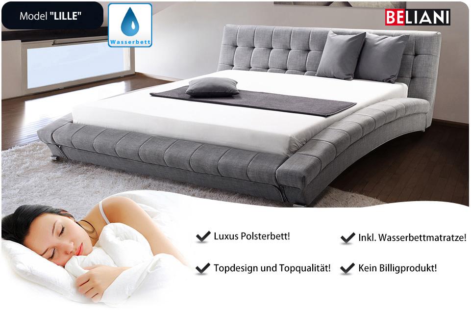 Doppelbett bett 160x200 grau zubeh in baar kaufen bei for Bett grau 160x200