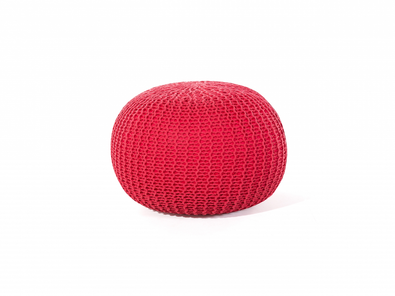 pouf coussin de sol pouf rouge coussin rouge pouf d coratif pouf de salon ebay. Black Bedroom Furniture Sets. Home Design Ideas