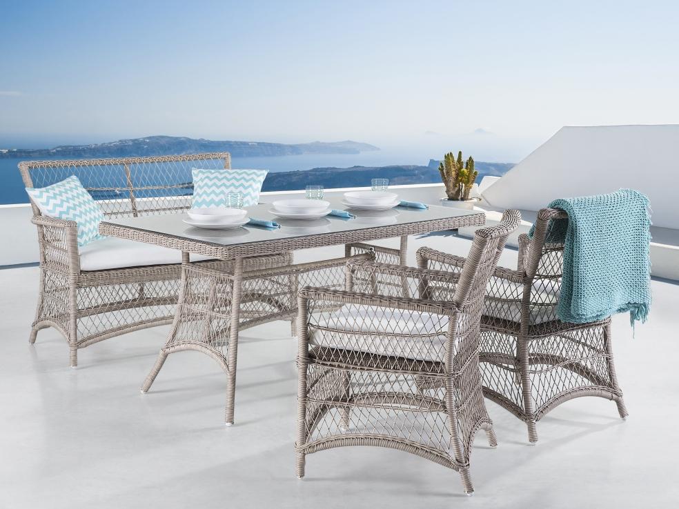 gartenm bel aus rattan balkonm bel in baar kaufen bei. Black Bedroom Furniture Sets. Home Design Ideas