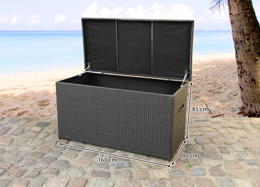 auflagenbox gartenbox kissenbox 160cm in baar kaufen bei. Black Bedroom Furniture Sets. Home Design Ideas