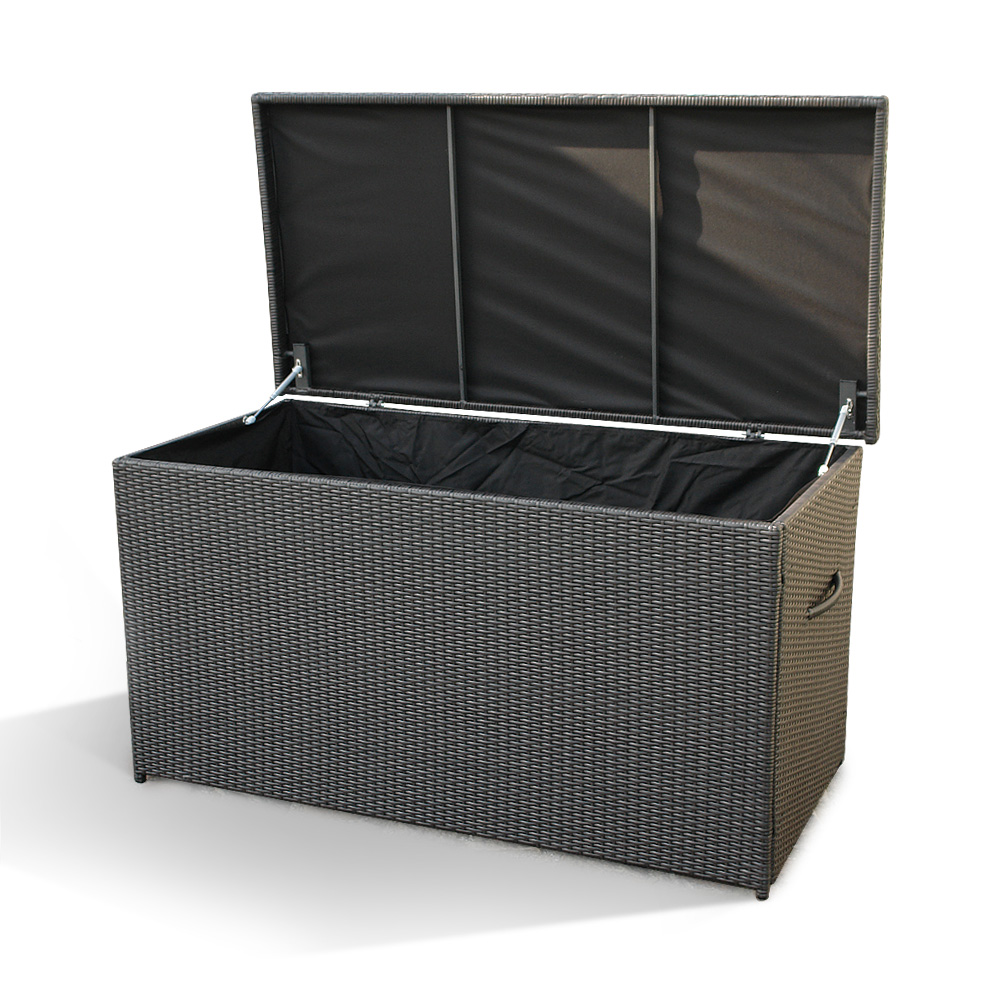 poly rattan storage box case modena 160 cm oudoor wicker. Black Bedroom Furniture Sets. Home Design Ideas