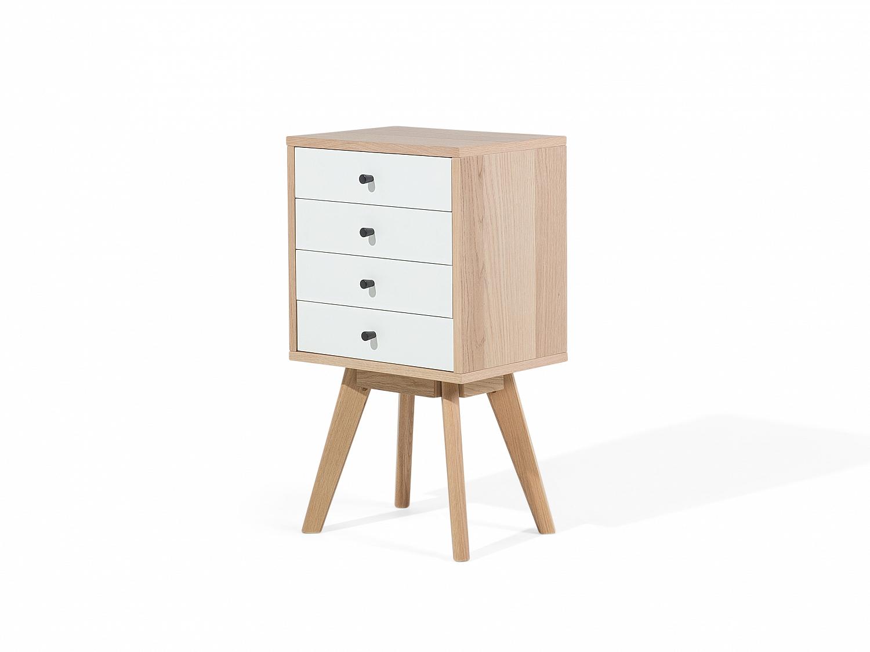 Commode rangement en bois meuble en bois commode en for Petit rangement en bois