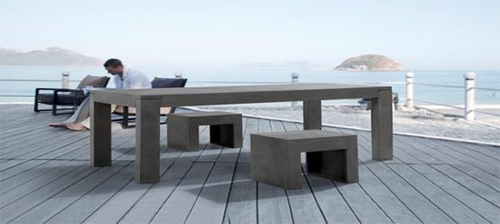 Beliani erweitert sein Gartenmöbelsortiment mit Betonmöbel | Möbel ...