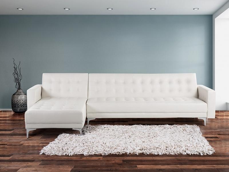sofa grau blau couch sitzgruppe ecksofa polstersofa wohnzimmer m bel polyester. Black Bedroom Furniture Sets. Home Design Ideas