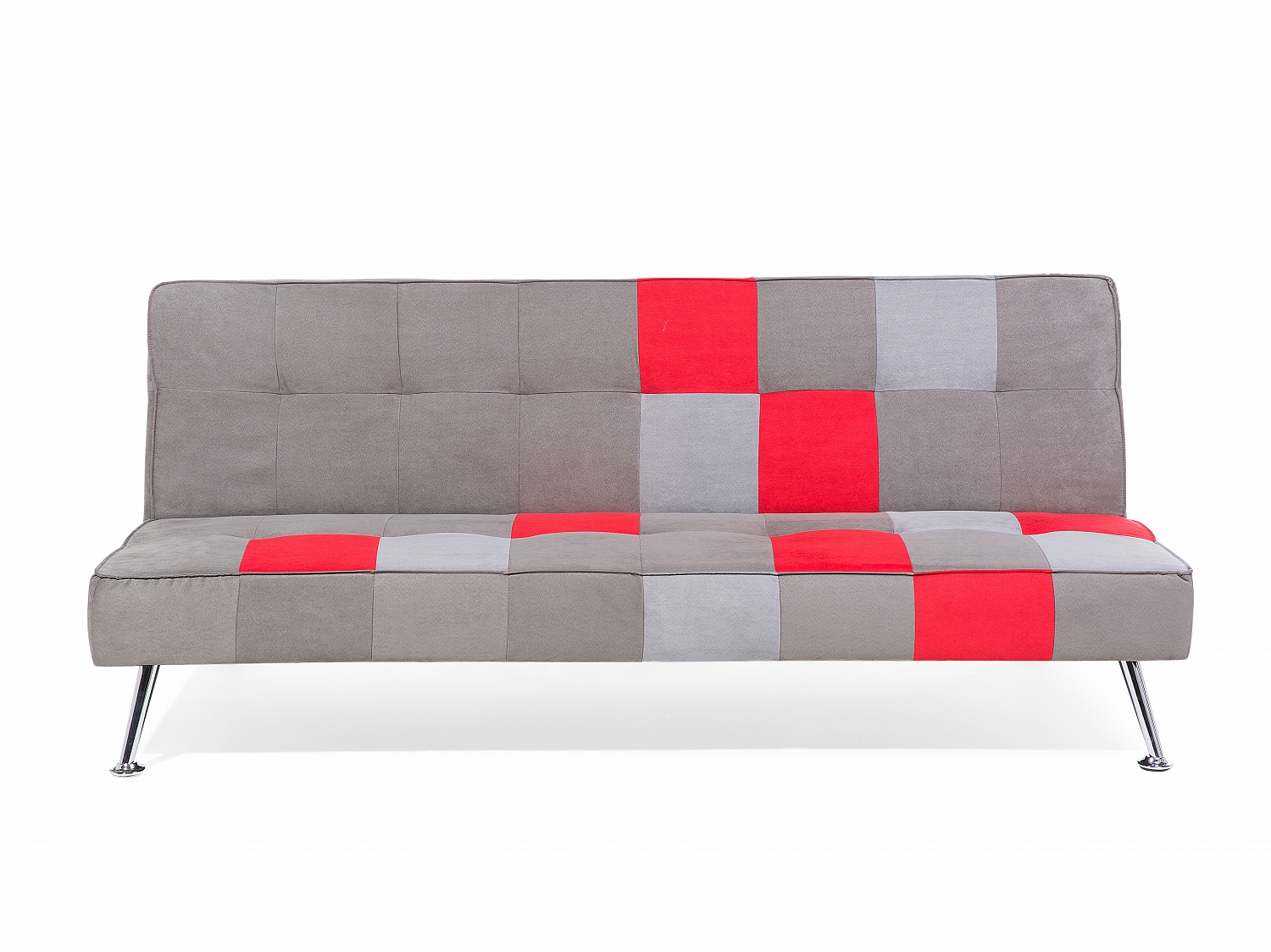 sofa grau patchwork schlafsofa couch schlafcouch bettsofa wohnzimmer polyester ebay. Black Bedroom Furniture Sets. Home Design Ideas