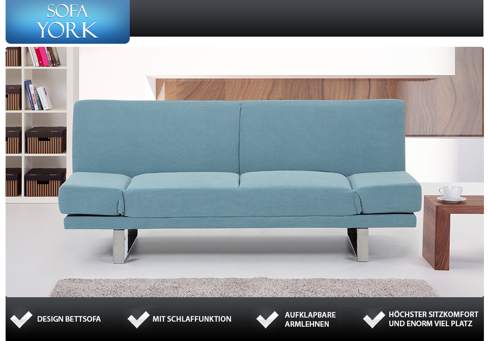 4sitziges stoffsofa couch pastellminze in baar kaufen bei. Black Bedroom Furniture Sets. Home Design Ideas