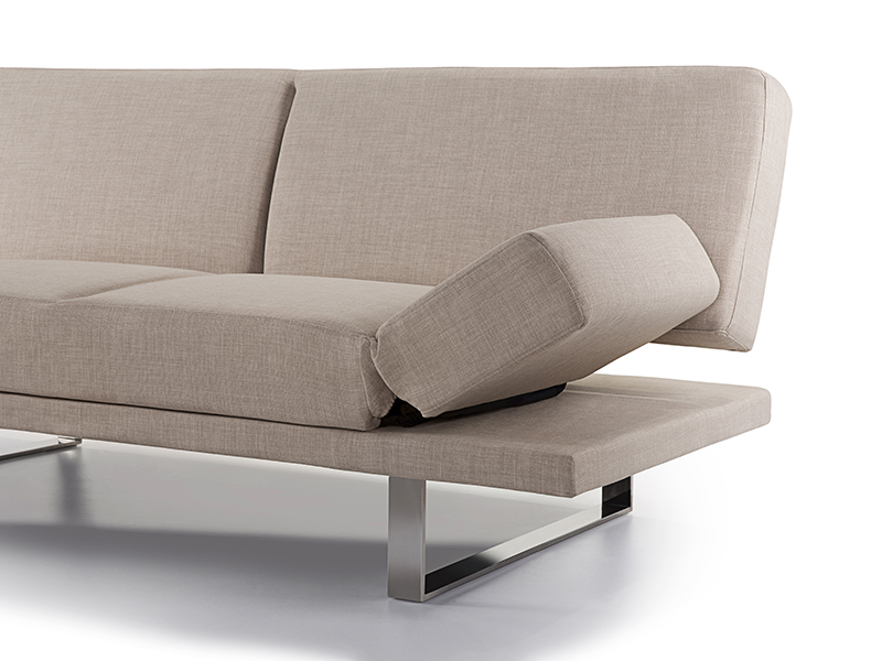 Sofa beige schlafsofa couch schlafcouch bettsofa for Bequeme couch