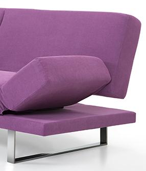 sofa couch fuchsie schlafsofa stoff in baar kaufen bei. Black Bedroom Furniture Sets. Home Design Ideas