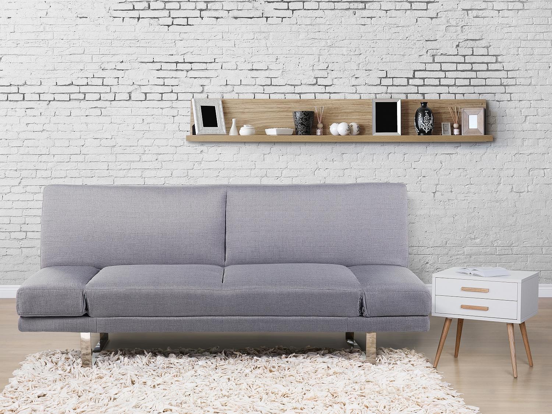 Sofa hellgrau schlafsofa couch schlafcouch for Sofa hellgrau