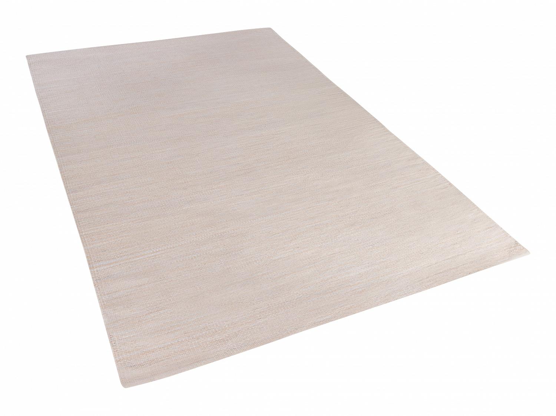 teppich beige 160x230 cm baumwolle l ufer vorlage wohnzimmerteppich ebay. Black Bedroom Furniture Sets. Home Design Ideas