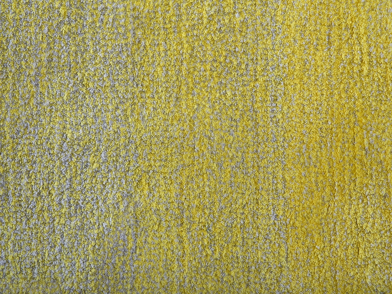 teppich grau gelb shaggy vorlage rechteckig hochflor polyester 80x150 l ufer ebay. Black Bedroom Furniture Sets. Home Design Ideas