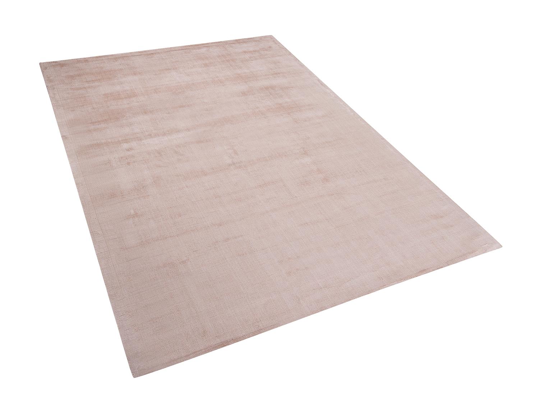 teppich beige l ufer wohnzimmerteppich designerteppich 160x230cm viskose ebay. Black Bedroom Furniture Sets. Home Design Ideas