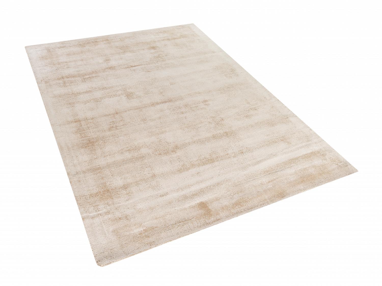 Tapis-rectangulaire-beige-Tapis-design-80x150-cm-Tapis-en-viscose